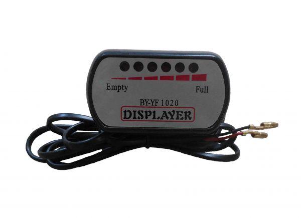 Дисплей светодиодный 24V для электровелосипеда