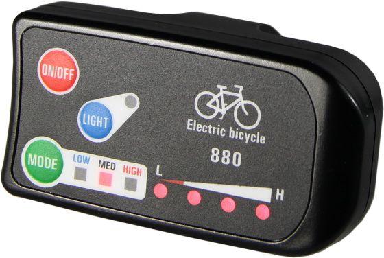 Дисплей светодиодный для электровелосипеда 36-48V