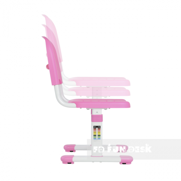 Растущая парта FunDesk Cantare Pink
