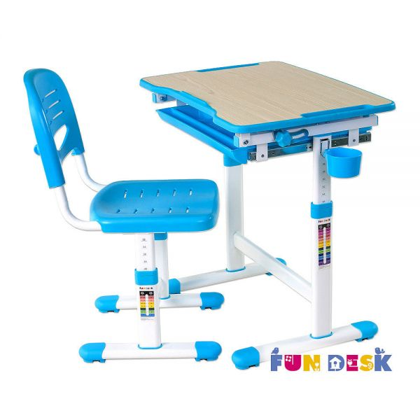 Парта трансформер Fun Desk Piccolino Blue