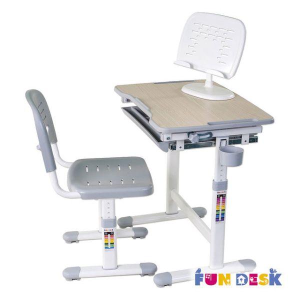 Детская парта Fun Desk Piccolino Grey