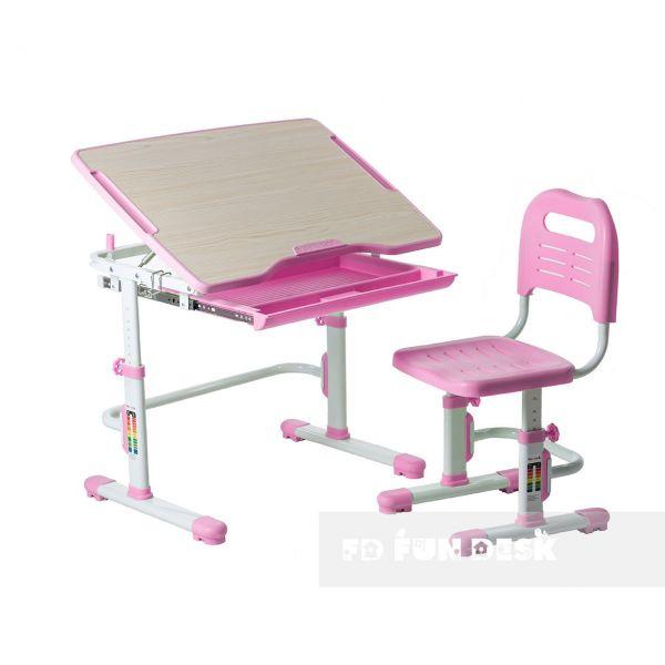 Детская парта FunDesk Vivo pink