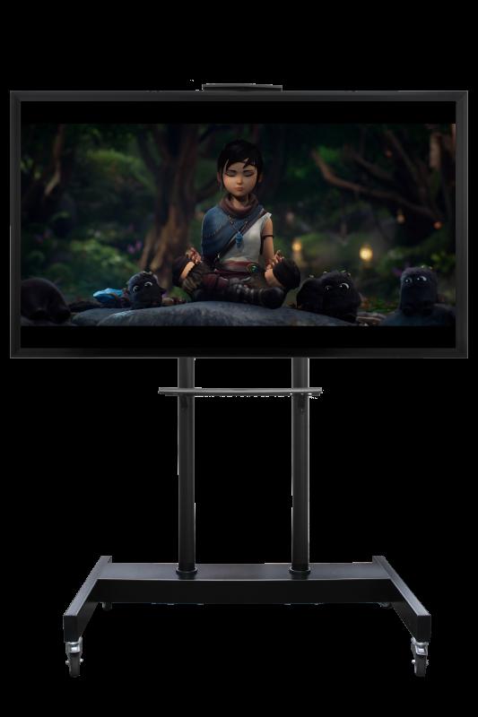 Мобильная стойка для телевизора интерактивной панели  МСТ-6
