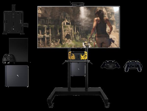 Мобильная стойка для TV - GAME ZONE MST