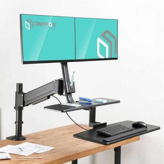 Рабочая станция для 2-х мониторов ONKRON W4GD