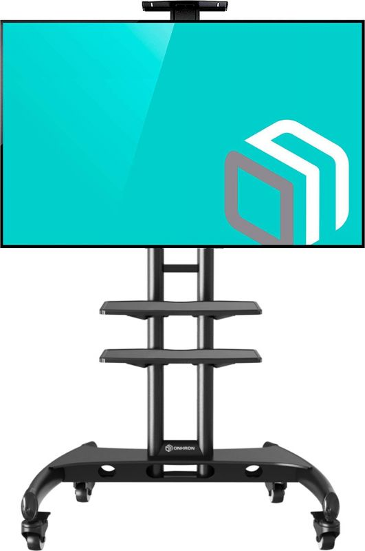 Мобильная стойка для телевизора с 2-мя полками ONKRON TS1562