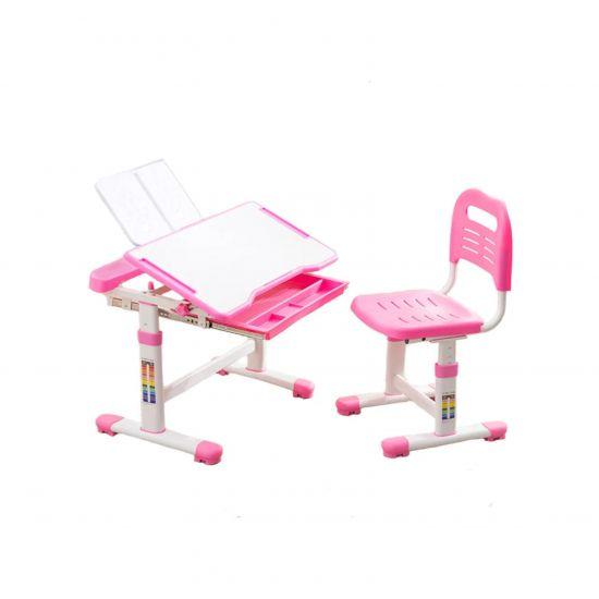 Комплект парта и стульчик CUBBY Vanda розовый